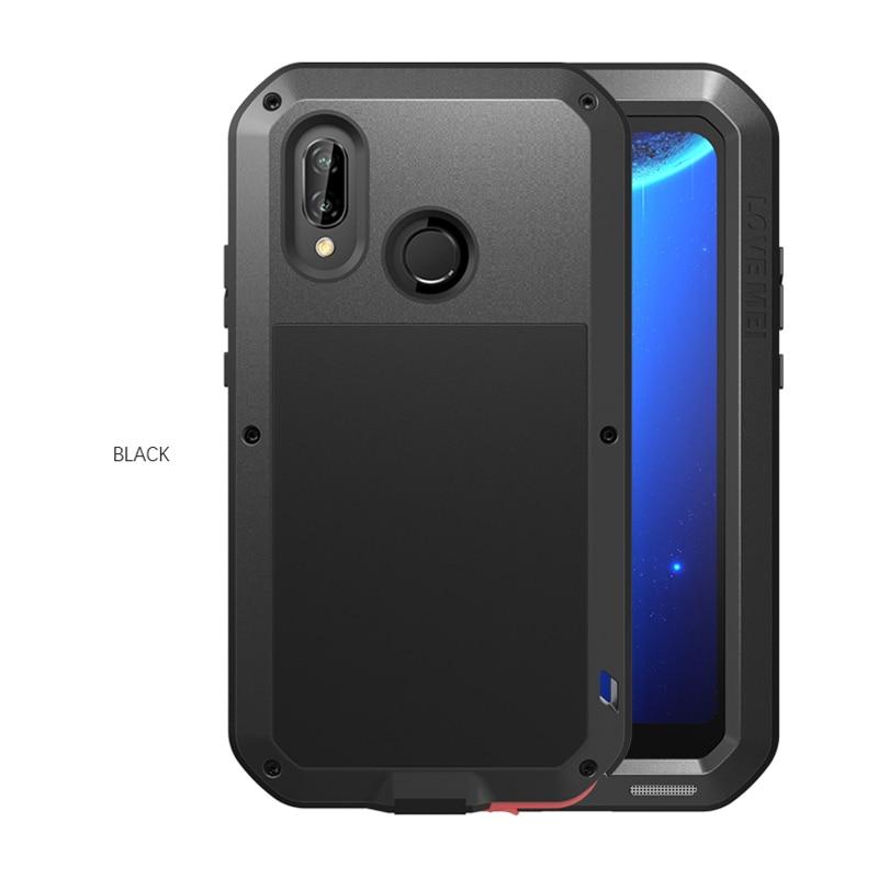 P20lite Nova 3e LOVE MEI Heavy Duty Powerful Case covers For huawei p20 lite Mobile phone