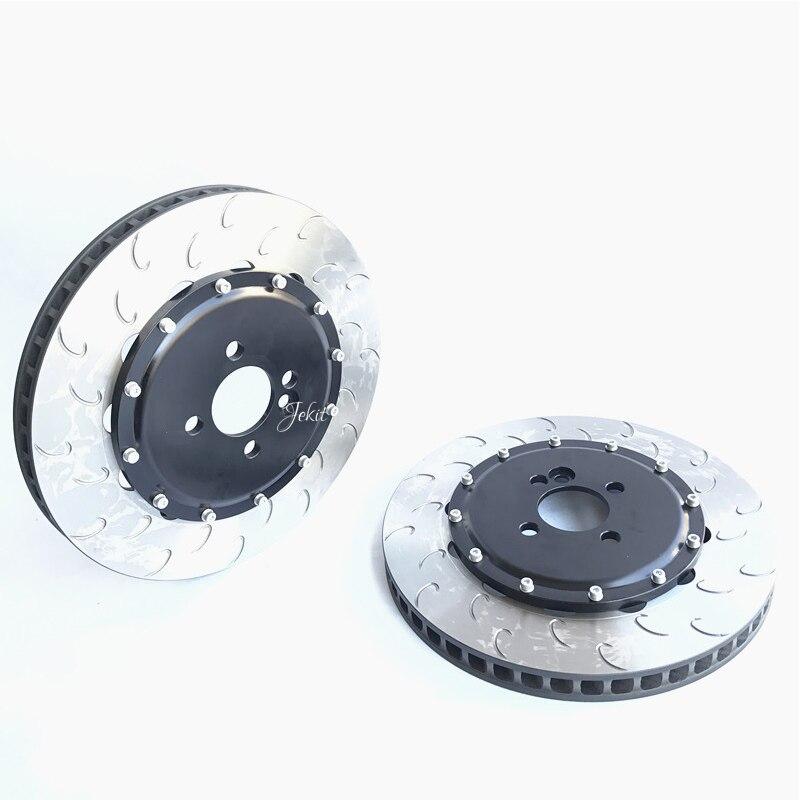 Jekit car brake kit 330*28mm disc with center cap PCD 4*100 for Honda Brio Satya 1200 cc front for original brake caliper