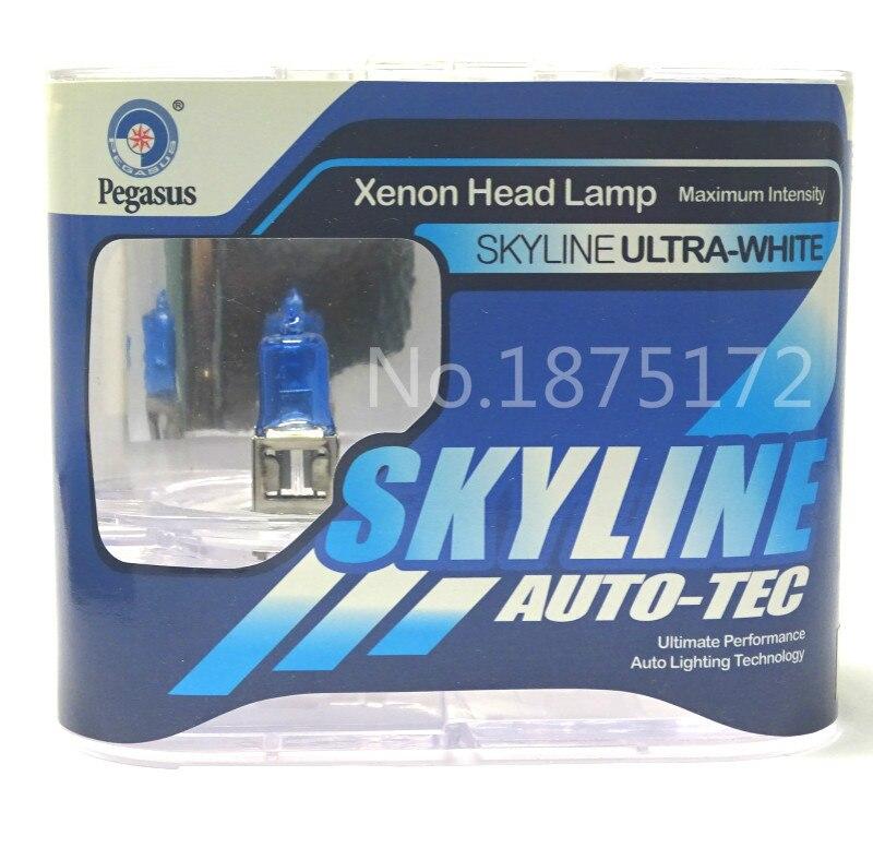 10 pièces H3 55 W 12 V 5000 K Super blanc voiture phare ampoule brouillard lampe ampoule Super blanc Auto tête ampoules Automobiles Source lumineuse