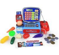 Supermarket Mini Shop Shopping Grocer Minimarket Till Register Cashier Simulation Furniture Checkout Pretend Play House Toy