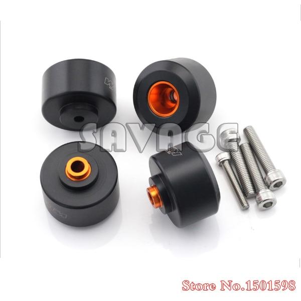 Pour KTM 125 200 390 avant et arrière fourche cadre de roue curseur Crash protecteur accessoires de moto