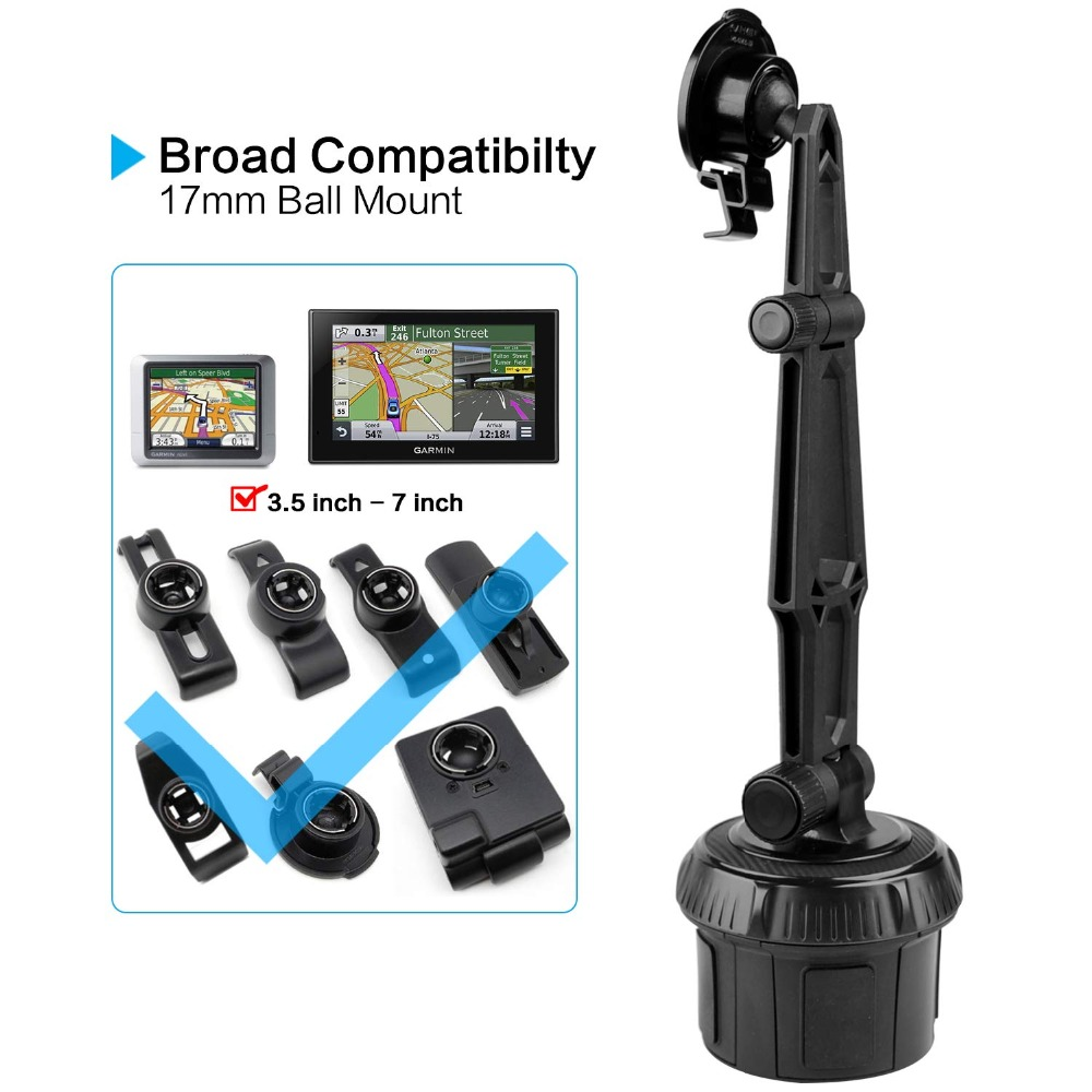 For Garmin Nuvi 650 660 680 GPS Bean Bag Dash Mount Swivel Arm Ball