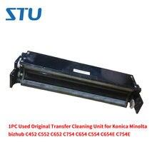 1 PC Usado 80%-90% Novo Original de Transferência de Unidade de Limpeza para Konica Minolta bizhub C452 C552 C652 C754 C654 c554 C654E C754E