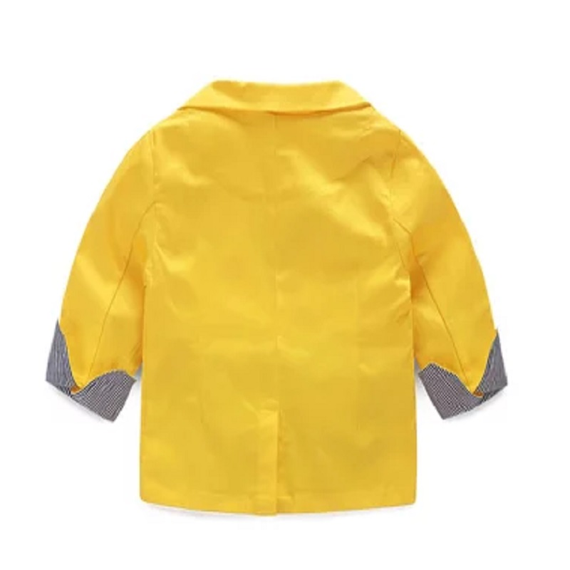 2016 New spring and autumn candy 4 color all-match childrens boys child clothing baby child suit jacket wt-1097