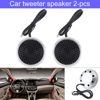 2pcs 150W 25mm Mini Dome Tweeter Speakers Car Loundspeaker Lound speaker Car Speakers for Car Automotive Audio Sound System