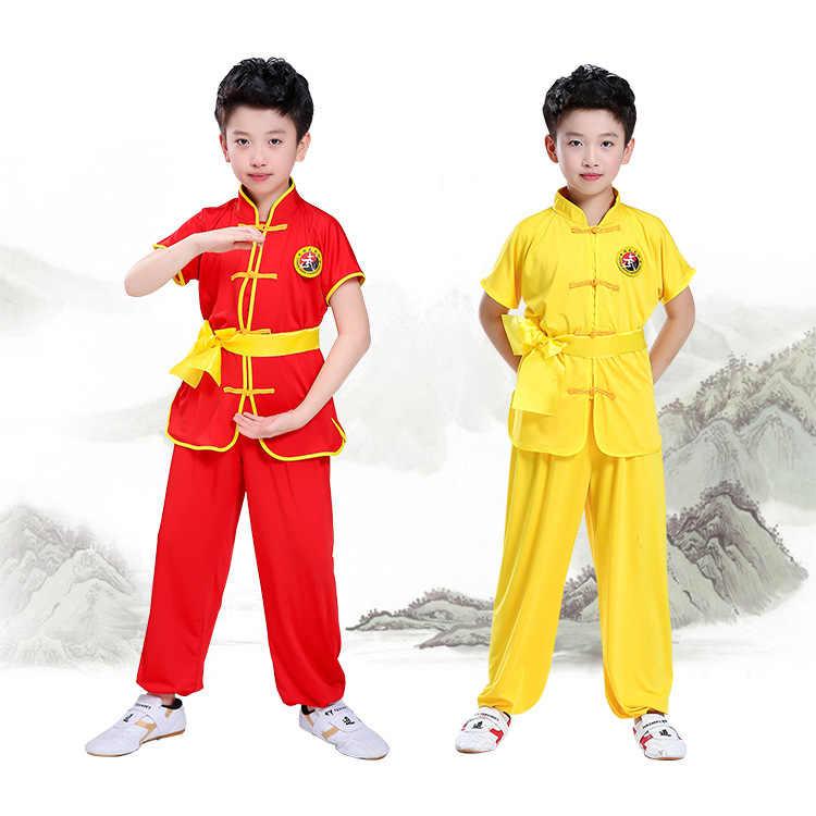 Juego de Judo de artes marciales para niños bebé niña Wushu ropa conjunto niños Kung Fu ropa mujeres hombres Bjj Gi cosplay traje uniforme