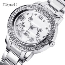 2019 big Women Rhinestone fashion Watches Lady Dress watch trendy ladies Crystal Quartz Clocks Luxury brand Bracelet Wristwatch orkina new women rhinestone watches lady dress women watch diamond luxury brand bracelet wristwatch ladies crystal quartz clocks