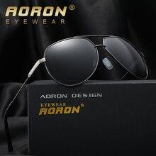 2017 Piloto AORON Nueva Manera de La Vendimia Diseñador de la Marca de Conducción de Los Hombres gafas de Sol de Las Mujeres Gafas de Sol gafas gafas de sol masculino
