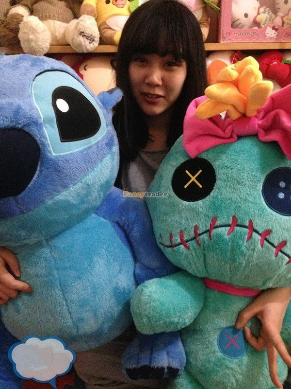 Fancytrader Copyrighted New 26\'\' 65cm Super Giant Stuffed Soft Plush Giant Cute Stitch, Free Shipping FT50794 (9)
