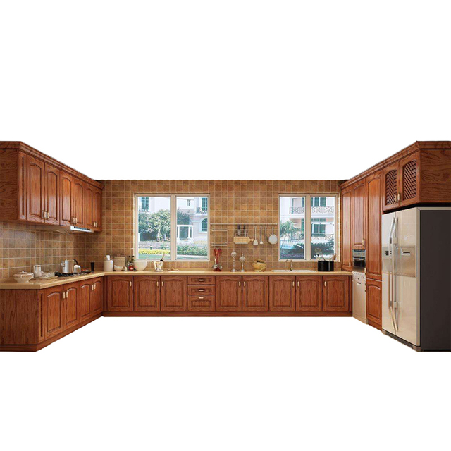 US $3999.0 |Aliexpress.com : Buy Ghana accura kitchen storage cabinets  pictures, oak u shape kitchen cabinet from Reliable Bedroom Sets suppliers  on ...