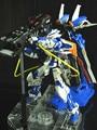 O envio gratuito de Pósitrons Blaster Gun para 1/100 MG MBF-P02/P03 Gundam Astray Red/Blue Frame