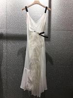 2019 летнее платье для женщин высокое качество перья ремень 2 цвета ddxgz2