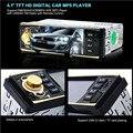 Новый 4019B12V 4.1 Дюймов HD 1080 P Bluetooth Стерео MP3/MP4 Радио FM MP5 Video Player Вход AUX Поддержка USB/TF карта FM функция