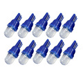 10pcs 168 194 501 W5W Car LED Light Side Dashboard Wedge Light T10 Bulb Blue Car Styling xenon Auto Lamps Parking