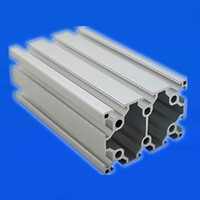 Double Groove Industrial Aluminum Alloy Profiles 6090 Assembly Line Frame Automatic Equipment Aluminum Extrusion Profile 6090