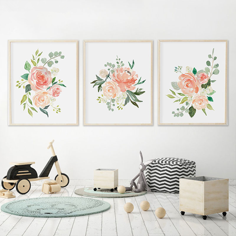 Watercolor-Flowers-Posters-and-Prints-Set-Of-3-Floral-Prints-Nursery-Wall-Art-Pictures-Bedroom-Decoration (2)