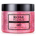 Skin Care Hyaluronic Acid Rose Petal Mask Replenishment Moisturizing Brighten Skin Colors Nourishing Washable Mask Facial Mask