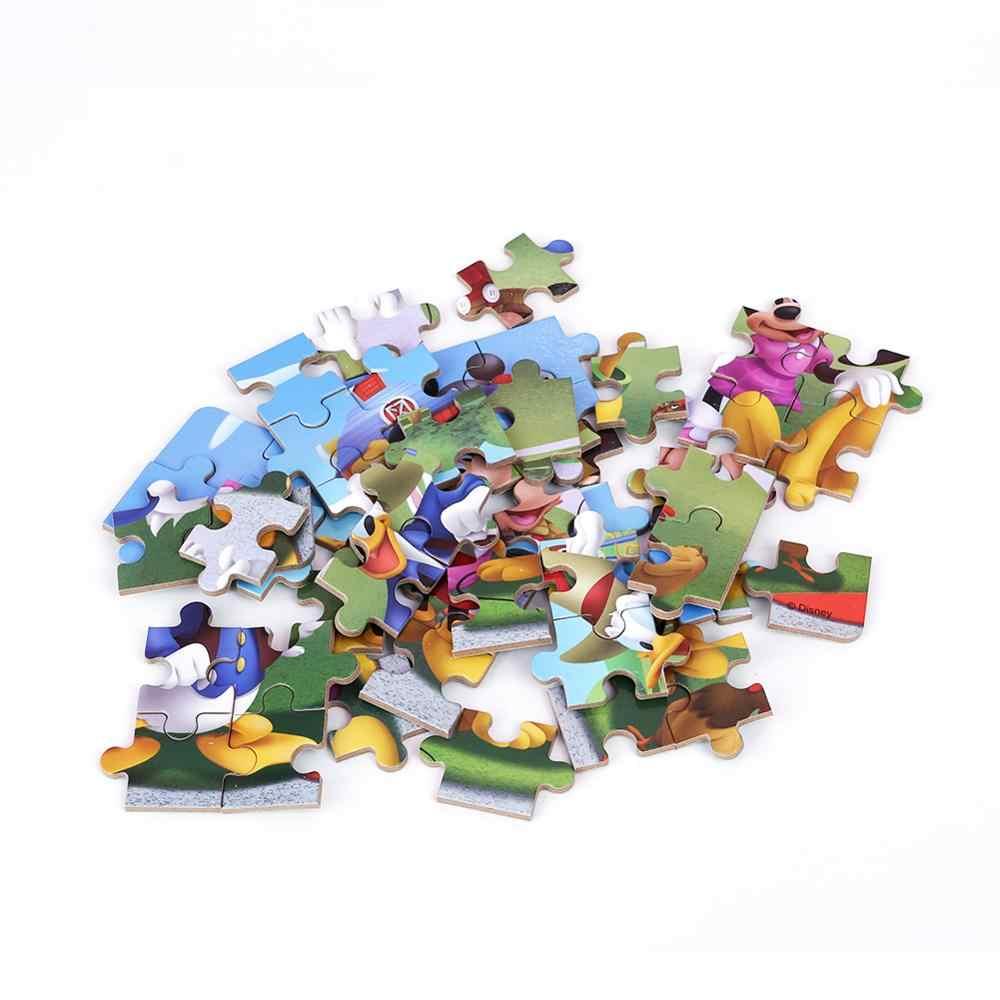60 قطعة/المجموعة الكرتون خشبية لعب 3D خشبية لغز الحديد مربع حزمة بازل قطع ل الطفل التعليمية مونتيسوري عيد الميلاد هدايا
