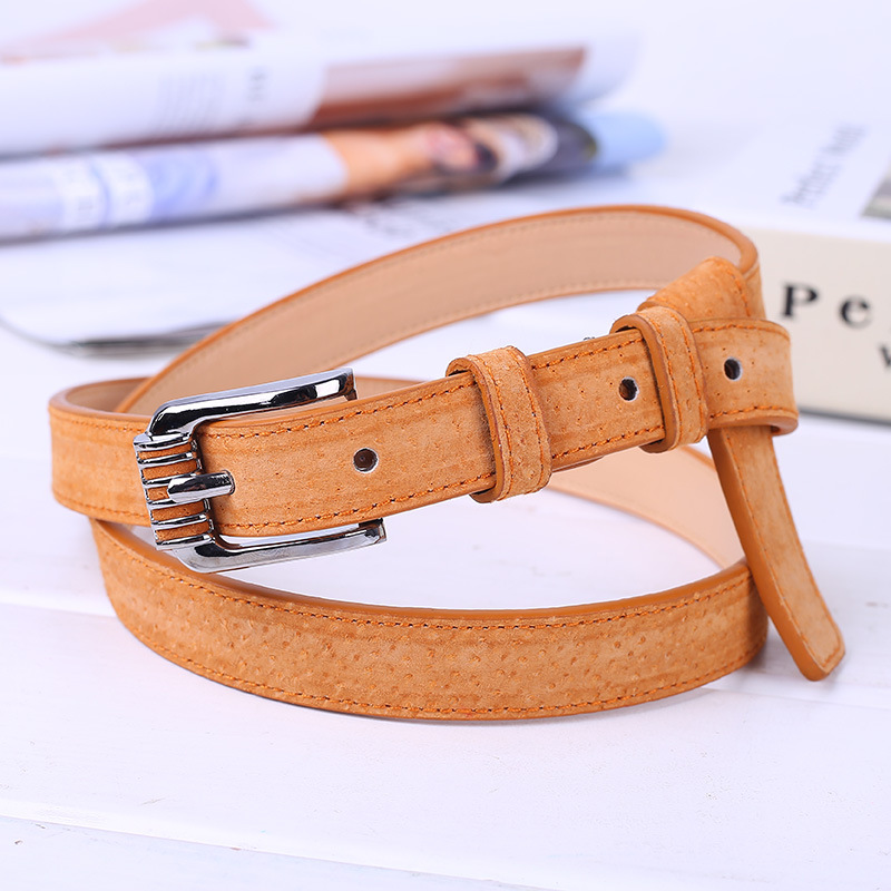 F&U Pigskin Genuine Leather Belt Luxury Strap Dress And Jeans Belts For Women Fashion Shining Vintage Buckle 10 Colors Availabl