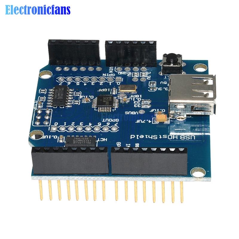 USB-хост-щит с поддержкой Google для Arduino для Android ADK и UNO 328 MEGA 2560 Duemilanove