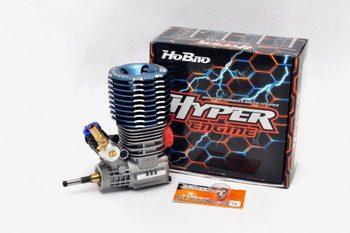 Original HOBAO VX 21 Engine 3.5cc H-2131T Hyper 21-3p Turbo W/ P4 Plug, W/O Pull Starter starter box