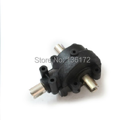 Henglong 3850-3 1:10 R/C  Nitro Turbulent Elders truck parts rear Differential gear box free shipping   free shipping islam between jihad and terrorism