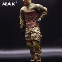 1/6 US Army Seal Captain Combat Clothing Sets Soldier Figure Clothes F 12 Action Figure Man Doll Body Toys Accessories