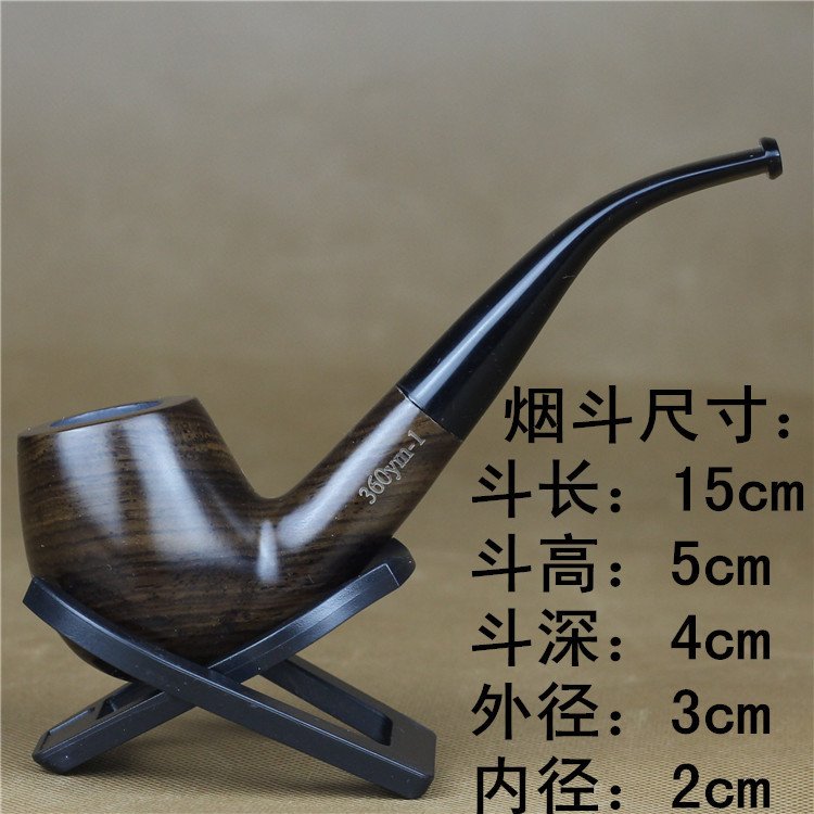 Imported Ebony Pipes Filterspipe Tobacco Special Wood Wooden - Free invoices and estimates tobacco online store