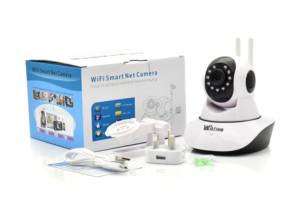 US $27 37 22% OFF|Wistino 1080P CCTV Wifi PTZ Baby Monitor Surveillance  System IP Camera 720P Smart Home Security Camera Night Vision KEYE-in