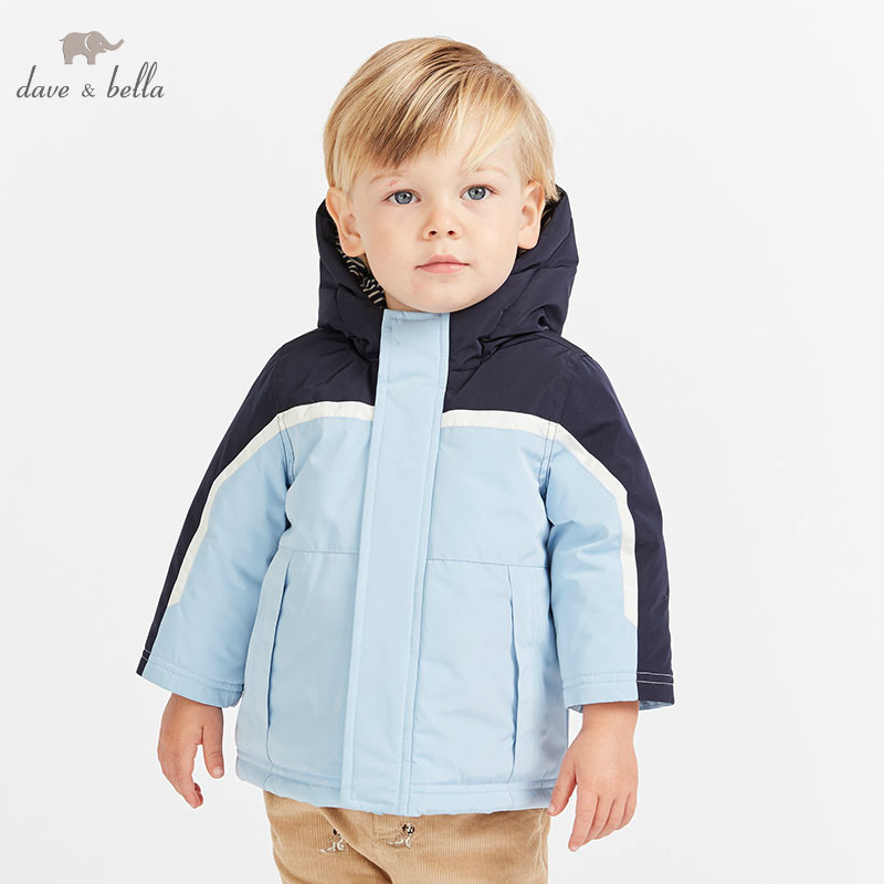 DBA7768 dave bella baby boys winter navy jacket children  outerwear fashion solid coatDBA7768 dave bella baby boys winter navy jacket children  outerwear fashion solid coat