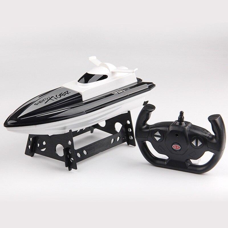 Eva2king 2.4G RC Boats Bateau telecommande Remote control ship High-speed Rc Boat Toys for children Barco de pesca Tekne цена
