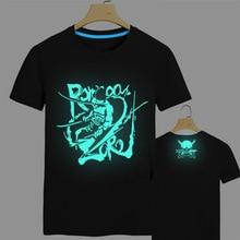One Piece T shirt Japan Anime Monkey D Luffy Cotton Tshirt Edward Newgate T-Shirt Fashion Men Women Roronoa Zoro Luminous Tees