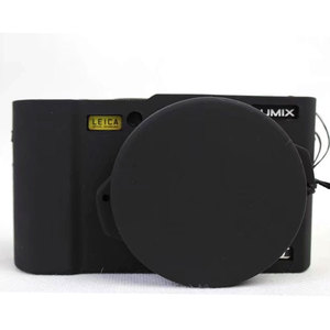 Image 4 - لطيفة واقية غطاء الجسم الحال بالنسبة لباناسونيك Lumix LX10 لينة سيليكون حقيبة كاميرا لباناسونيك Lumix L X10 مع غطاء عدسة المطاط