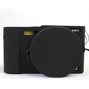 Image 4 - Nizza Schutz Körper Abdeckung Fall für Panasonic Lumix LX10 Weiche Silikon Kamera Tasche für Panasonic Lumix L X10 mit Gummi Objektiv kappe