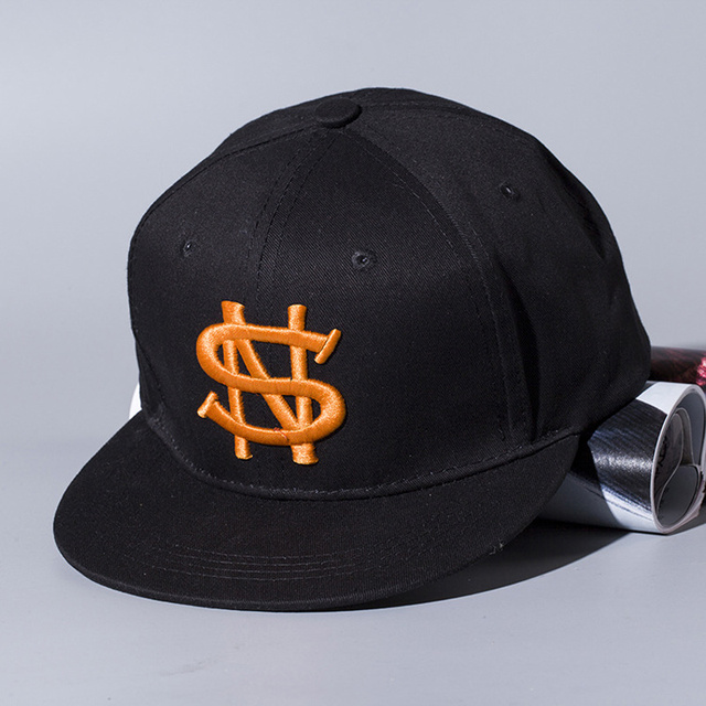 2016  letter Baseball Cap Sons Bones Snapback Hip Hop Fashion Flat Hat for Kid Boys And Girls Casquette