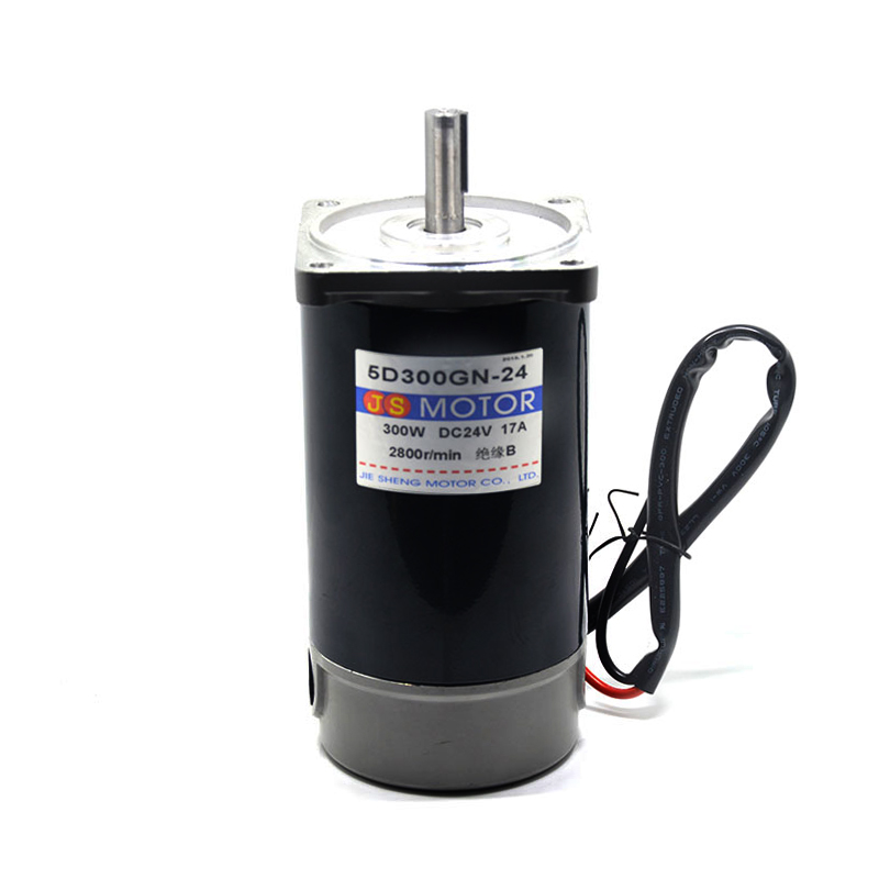 DC12/24V 300W 1800/3000rpm 5D300GN miniature permanent magnet DC motor machinery/Power Tools/DIY Accessories motor 60v1800w 4500rpm permanent magnet brushless dc motor differential speed electric vehicles machine tools diy accessories motor