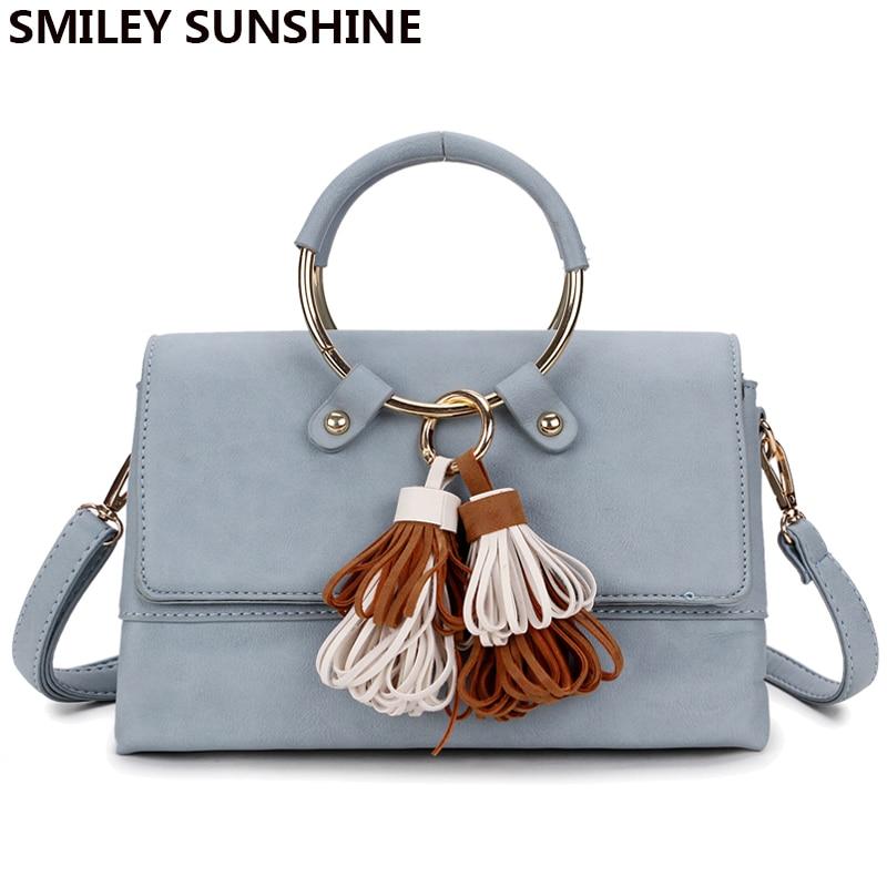 SMILEY SUNSHINE jenama bingkai wanita messenger bags musim panas - Beg tangan - Foto 5