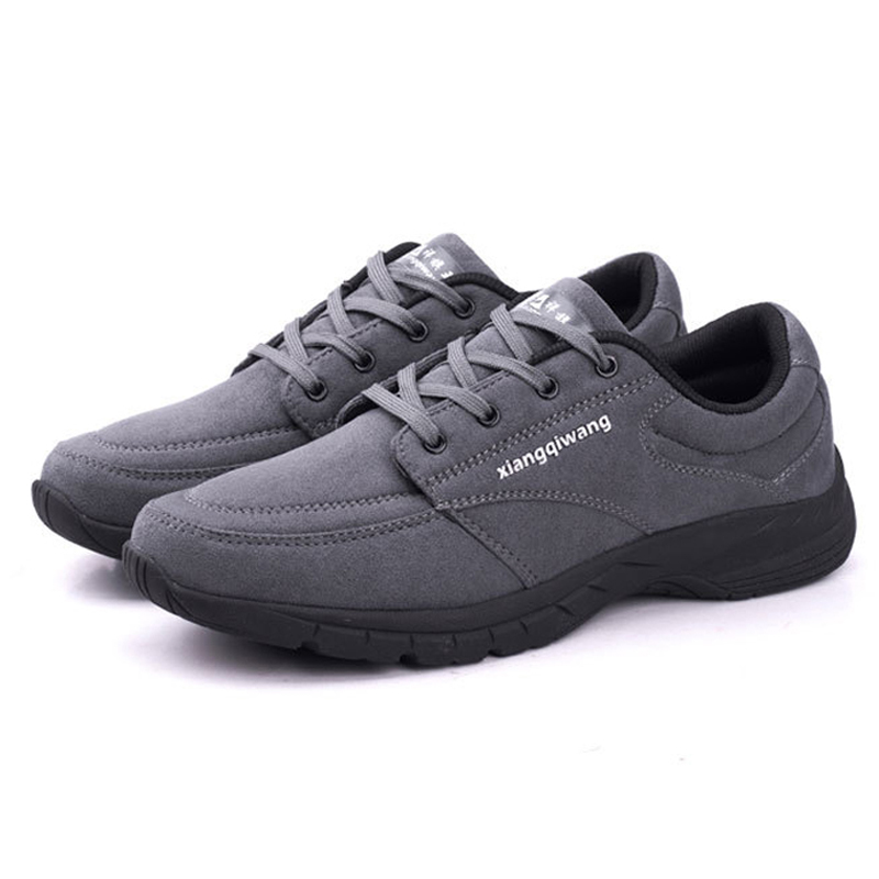 New 2018 spring autumn Men sneakers high quality breathable men casual shoes lace-up light flat shoes for men big size 39 - 50 men s leather shoes vintage style casual shoes comfortable lace up flat shoes men footwears size 39 44 pa005m
