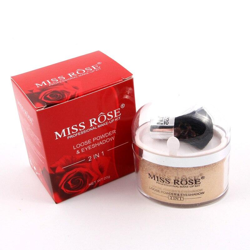 Miss Rose 2 in 1 Highlighter Machiaj Contur Paletă Unică Culoare - Machiaj