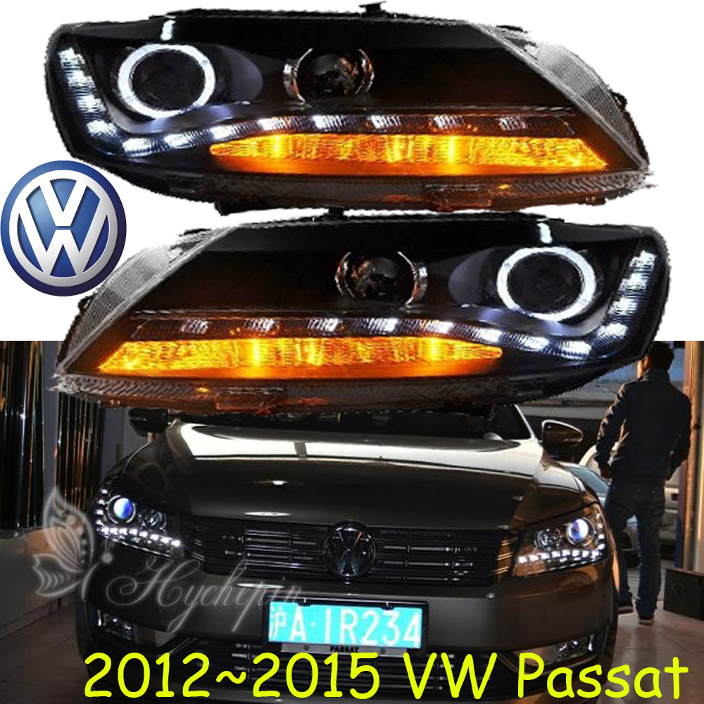 Passat headlight,2012~2015,Free ship!Passat fog light,polo,magotan,jetta,touareg,tiguan,Passat B7 tiguan taillight 2017 2018year led free ship ouareg sharan golf7 routan saveiro polo passat magotan jetta vento tiguan rear lamp