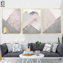 Scandinavia Canvas Art Posters and Prints Wall Art Geometric Paintings Picture Nordic Decorative for Living Room Home Decor