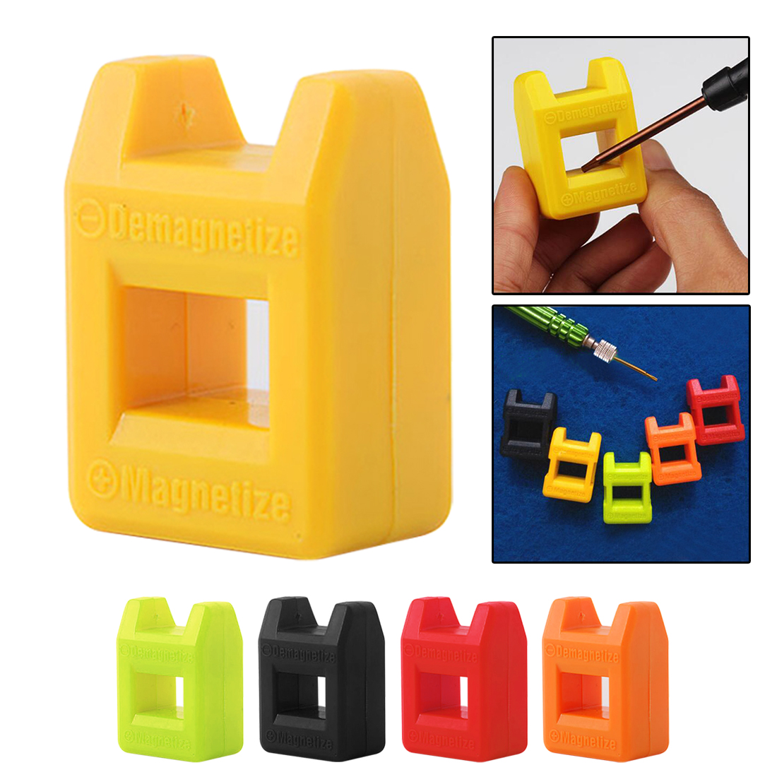 Magnetizer Demagnetizer 2 In 1 Tool Screwdriver Magnetic High Quality Colour Send Random Mini - Fast