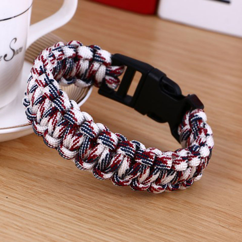 Paracord Bracelets Kit Military Emergency Survival Bracelet Men Women Uni Rope Charm In From Jewelry Accessories On