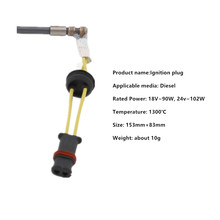 Free shipping Warm Wind Ignition Plug for Eberspaecher and Belief heater 12V 24V 2kw 5kw 1kw 1 2kw 1 5kw 1 8kw 2 2kw 2 5kw 3kw 48v 60v 72v electric three four wheel brushless high speed motor fully enclosed hall