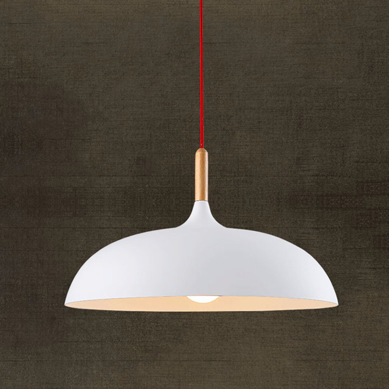 Fashion LED Wooden Pendant Lights E27 Fancy Iron Hanging Lamp UFO Lighting Fixture Night Club Pub Music Bar Dining Room Dynasty [] every day special offer wooden wood self defense stick home car wooden baseball bat hard wooden club club