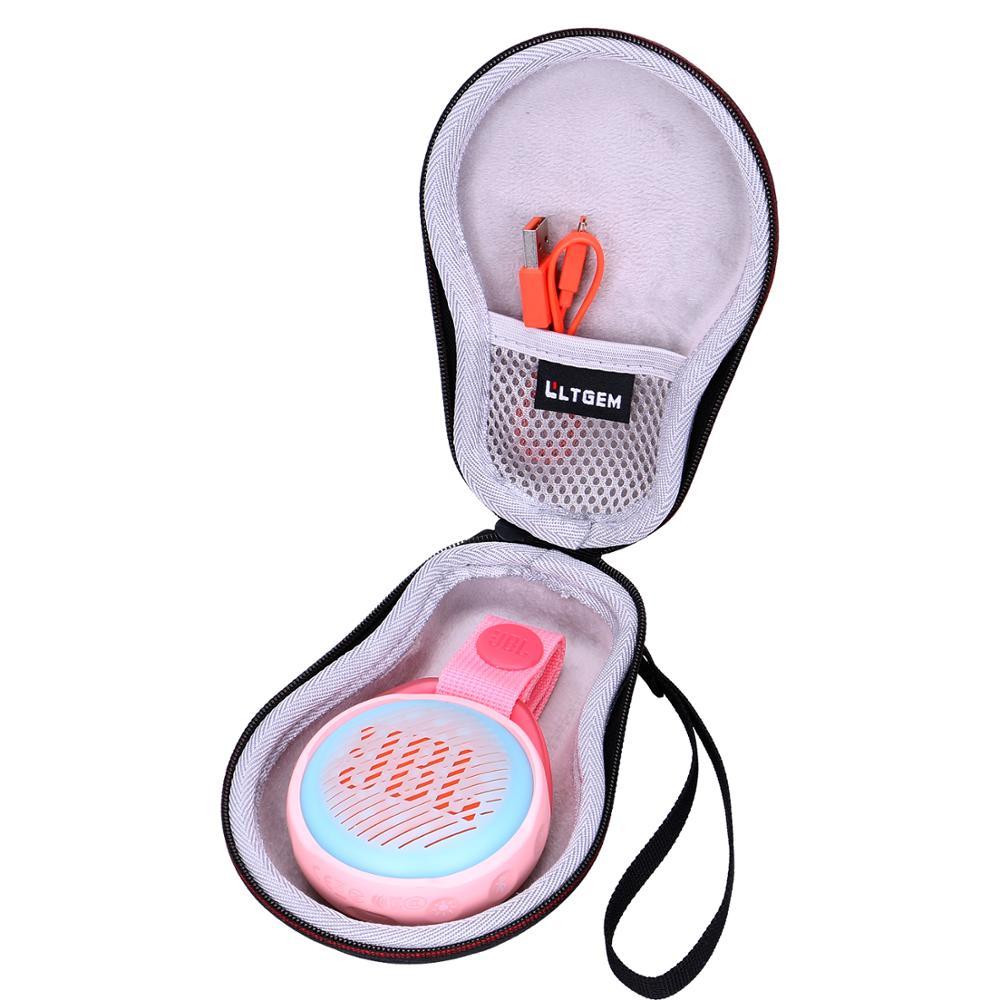 LTGEM EVA Shockproof Carrying Case For JBL Jr.Pop Kids Portable Bluetooth Speaker