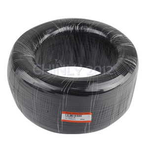 Image 5 - Czarna okładka koniec świecące włókno kabel światłowodowy 350m High Bright 0.75mm do 3mm PMMA plastikowe światłowody światło do dekoracji projektu