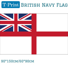 Free shipping British Navy Warship Flag White Ensign Flag 150x90cm 60x90cm British Navy Polyester Activities printio british flag bus