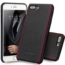 Qialino чехол для iphone 8 плюс роскошный до середины икры натуральная кожа чехол для iPhone 7 Plus Ultra Slim моды для 4.7/5.5 дюймов