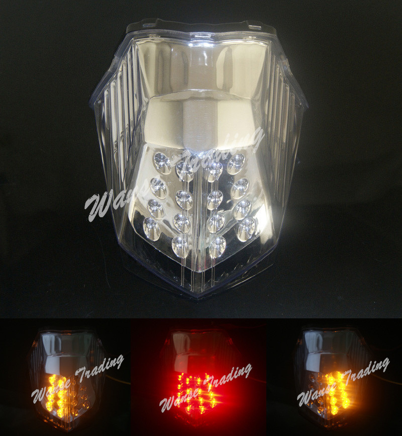 Taillight Tail Brake Turn Signals Integrated Led Light Clear For 2009 2010 2011 2012 2013 2014 2015 YAMAHA XJ6 XJ-6 XJ6N XJ6F aftermarket free shipping motorcycle parts led tail brake light turn signals for 2008 2012 suzuki hayabusa gsx1300r clear